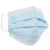 OP-Maske Mundschutz, 3-lagig, blau, mit Gummi (50 Stück)